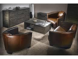delamaison canapé canapé 2 5 places 2 fauteuils croûte de cuir enduite