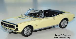 1967 camaro diecast danbury mint 1 24 1967 chevrolet camaro rs ss convertible