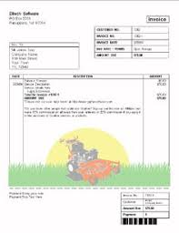 Lawn Maintenance Invoice Template by Free Printable Lawn Service Contract Form Generic Sle