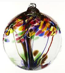 kitras glass witch balls trees of enchantment collections