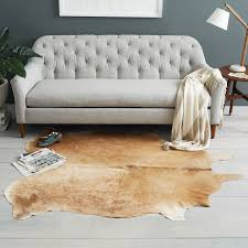 Are Cowhide Rugs Durable Cowhide Rug West Elm