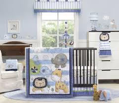 amazon com kids line 4 piece crib bedding set jungle doodle