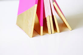 gold dipped gold leaf notebooks diy diy projects cuddling