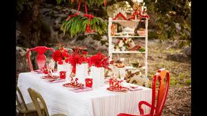 christmas themed wedding decorations ideas youtube