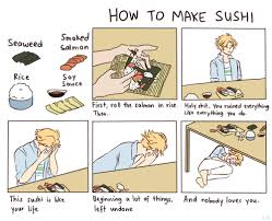 How To Create A Meme Comic - sushi comic tumblr