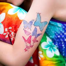 silhouette america temporary tattoo paper media tattoo 3t