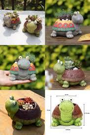 Turtle Planter 14721 Best Garden Supplies Images On Pinterest