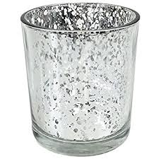 Mercury Glass Home Decor Amazon Com Just Artifacts Mercury Glass Votive Candle Holders 3