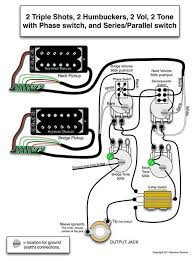 seymour duncan wiring diagram 2 triple shots 2 humbuckers 2