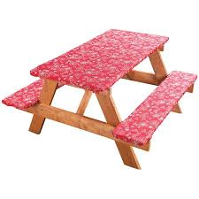 picnic table covers walmart fanciful flowers deluxe picnic table cover walmart com