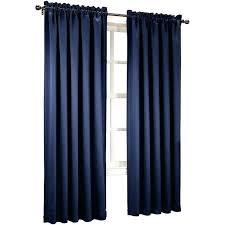 room darkening curtain rod room darkening d sun 2 pack room darkening rod pocket curtain panels