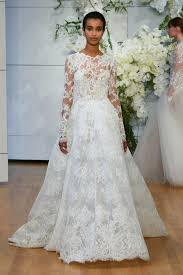 wedding dress collection best of bridal fashion week lhuillier wedding dress