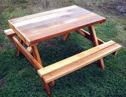 Red Cedar Octagon Walk In Picnic Table by Cedar Picnic Table Kit Cedar Picnic Table Home Depot Cedar Picnic