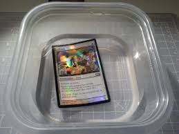 magic learning to make foil peel alters and an alternative method