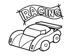 coloriage de voiture de course pour colorier coloritou com