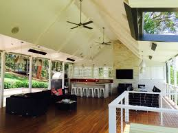 Hamptons Style Outdoor Furniture by Modern Hampton Style Outdoor Area Timber High Ceilings Dark
