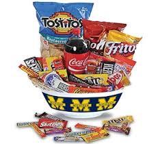 food baskets delivered wolverine junk food basket in perrysburg toledo oh oh ken s