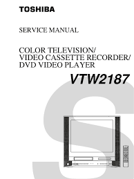 toshiba vtw2187 service manual electrical connector soldering