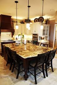 granite kitchen island table attach this kitchen table concept to an existing island you