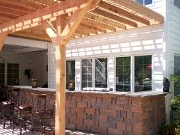 ideas for outdoor kitchen inspirational outdoor kitchen pergola ideas taste