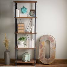 Kitchen Storage Shelves by Living Room Kitchen Storage 4 Shelf Bookcase Bookshelf Vintage