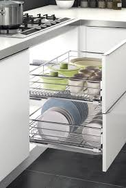 2017 new design kitchen plate dish pull out basket buy kitchen