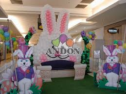 Easter Decorations With Balloons by Balloon Easter Bunny Easter Spring Pinterest Balloons