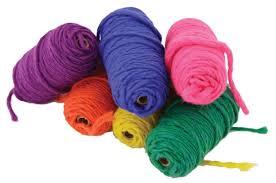 loom yarn variety pack 6 balls multi craft equipment