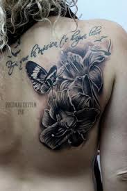 back butterfly by puedmag custom ink tattoos