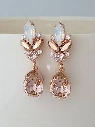 Chandelier Pearl Earrings For Wedding Clear Vianne Earrings Bhldn U003e U003e Diy With Buttons For Jeweled Part