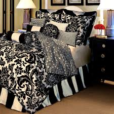 bedroom picturesque perfect black and white bedding walmart gray