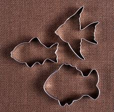 fish cookie cutters set fishy cookie cutters tropical fish