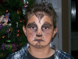 Halloween Makeup Male Wolfman Halloween Makeup