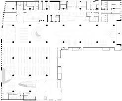 curving voids pierce the floors of anttinen oiva u0027s helsinki library