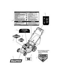 snapper mower parts model 7800831 sears partsdirect