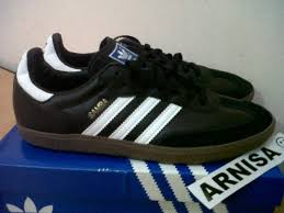 Jual Adidas Made In Indonesia terjual adidas samba original black strips white gum sol 100 made