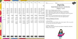 guided reading sheets for teachers to support teaching on