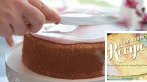 peach blossom cake recipe good food