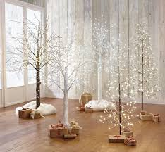 lighted birch trees 12 modern christmas trees you can decorate with this
