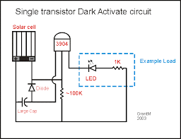 Solar Street Light Circuit Diagram by Dark Activated Circuit Tech Reference Pinterest Electronics