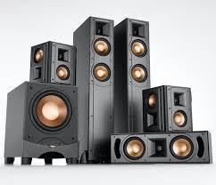 sharp home theater system klipsch rf 52 5 1 channel speaker system hi fi