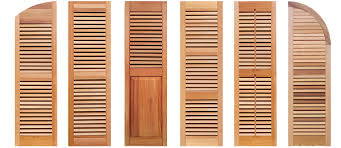 Wooden Louvre Blinds Southern Shutter Company Exterior Interior Wood Shutters