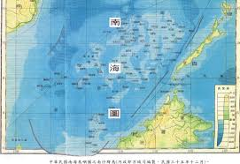 China Sea Map by The South China Sea Arbitration University Of Maine Of Law
