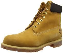timberland 6 premium bottes classiques homme jaune wheat