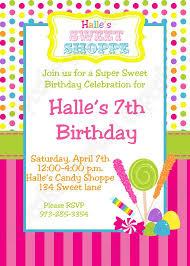 free printable chocolate theme invitations for a birthday party