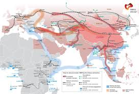 Changsha China Map by How The Chinese Are Modeling The New Silk Road The Aiib And The