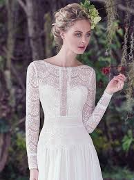 sleeved wedding dresses sleeved wedding dresses in lace chiffon tulle and crepe