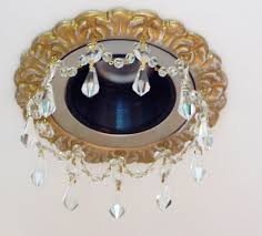 Recessed Lighting Recessed Lighting Trim With Crystals Beaux Arts Classic Products