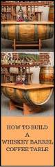 Whiskey Barrel Pub Table Furniture Whiskey Barrel Furniture Plans Wooden Barrel Coffee