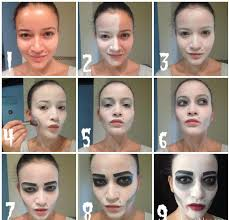 Halloween Makeup Black Swan 13 Awesome Halloween Make Up Tutorials That Takes Less Than An Hour